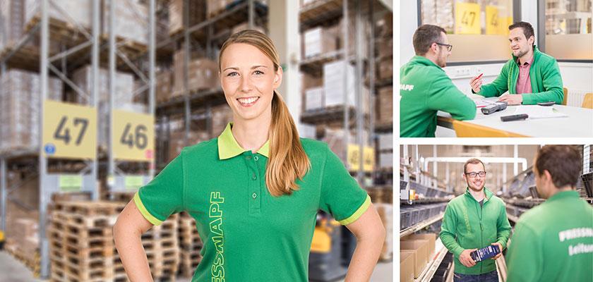 Jessica, Führungskraft, Logistik Krefeld